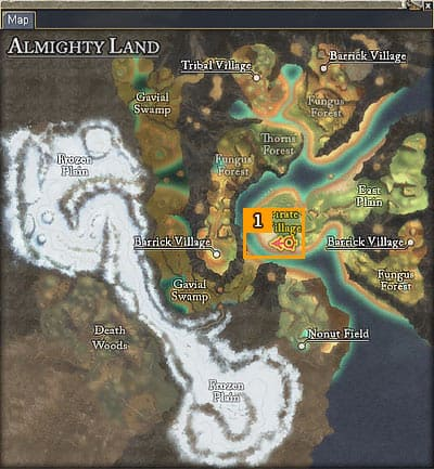 Large Map Screenshot